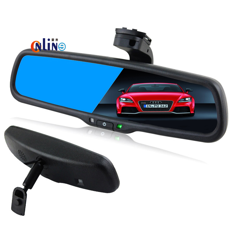 Clear View Special Bracket Car Electronic Auto Dimming Interior Rearview Mirror For Toyota Corolla Yaris Crown Prado(China (Mainland))