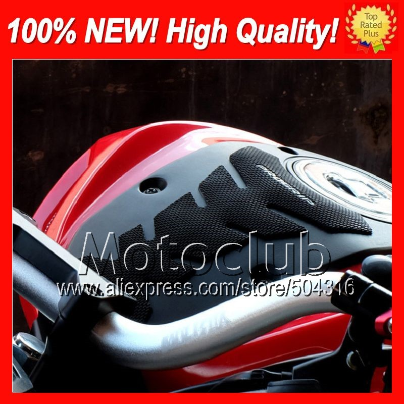 3D Rubber Gas Tank Pad For DUCATI 848 1098 1198 07-11 848S 1098S 1198S 848R 2007 2008 2009 2010 2011 0D01 Tank sticker decals(China (Mainland))