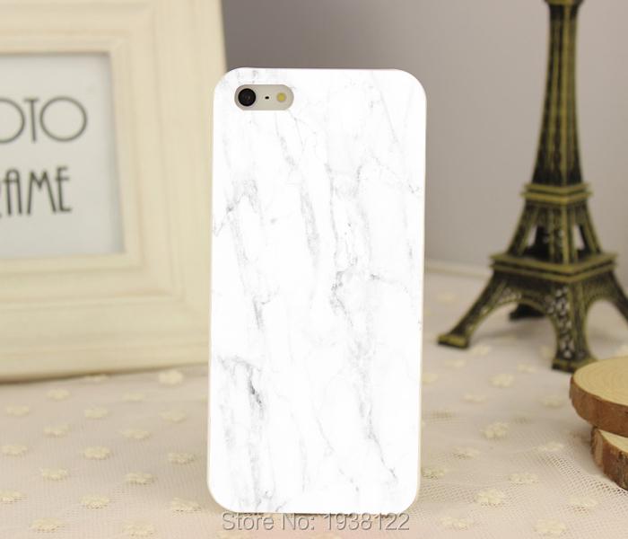New carrara italian marble -1 hard white Skin Case for iphone 5 5S 4 4g 4S 5C Retail(China (Mainland))