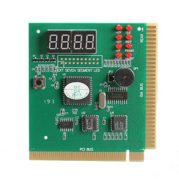 New 4-Digit LED Display PC Analyzer Diagnostic Card Motherboard Post Tester(China (Mainland))
