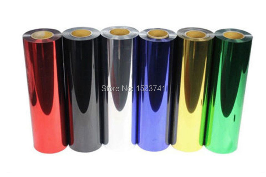 4 yards PET Metal light Mirror Heat Transfer Vinyl Film for T-shirt Textile Press(China (Mainland))