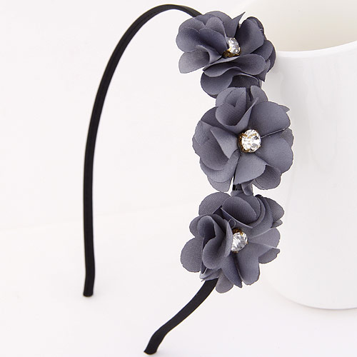 2016 Fashion Flower Headband Hairband for Women Girl Hari Accessories Tiara Hair Band Crystal Jewerly Bijoux Tete(China (Mainland))