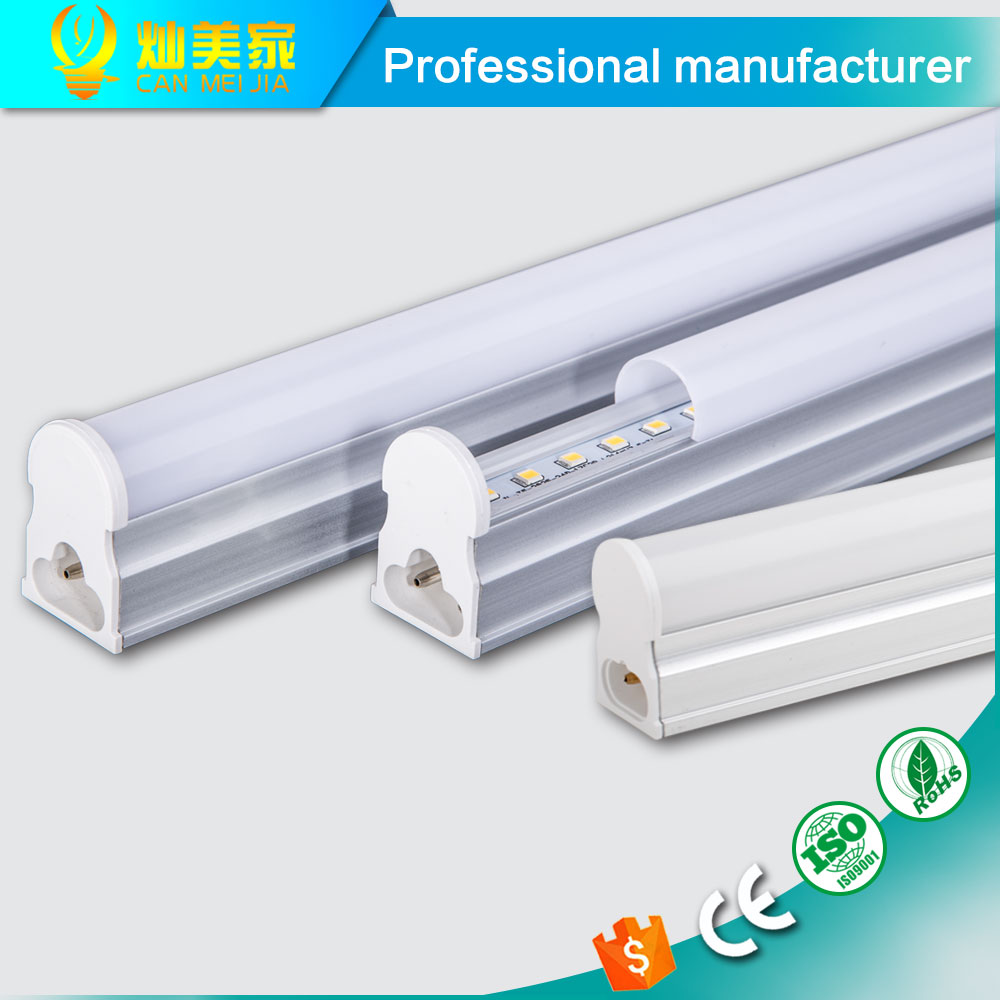 PVC Plastic LED Tube T5 Light 220V 240V 30cm 5W 60cm 1ft 2ft 10W LED Fluorescent Tube T5 Wall Lamps Cold White T5 Bulb Light 9W(China (Mainland))