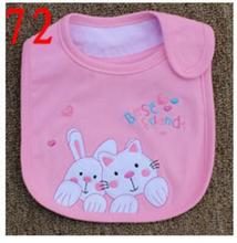 Baby Bibs Cotton Bandana Bibs Infant Babador Saliva Bavoir Towel baberos bebes Babadores Newborn Baby Girls Boys 3pcs/lot  xwd72