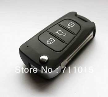 Best price for Hyundai I30 and IX35 3 button flip remote key shell