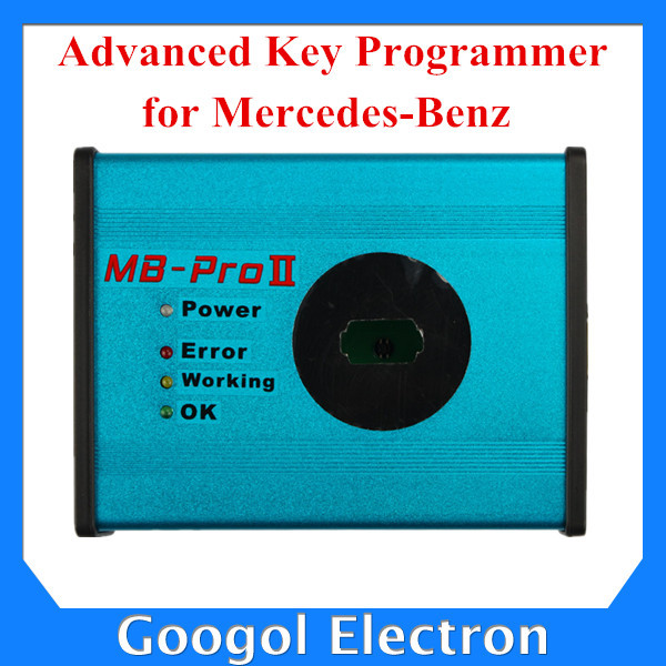 Newest Advanced Key Programmer for Mercedes Benz Key Programmer For Mercedes Key Programmer Fast Express Shipping(China (Mainland))