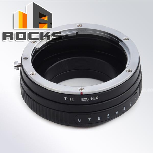 Tilt Adjustable aperture Mount Adapter Ring Suit For Canon EOS Lens Sony NEX Camera NEX-5T NEX-3N NEX-6 NEX-5R NEX-F3 NEX-7<br><br>Aliexpress