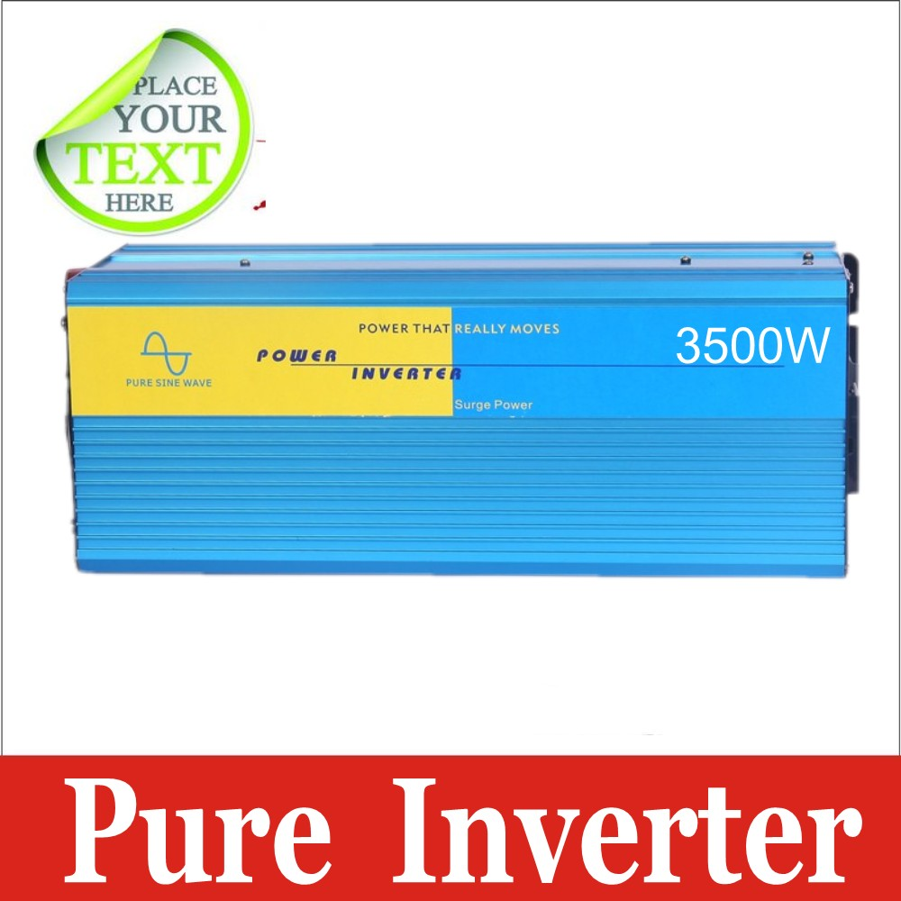 DC-AC3500W,Free shipping,High quality,Pure Sine Wave power inverter 3500W peak 7000W DC12V to AC 220V dc ac Power Inverter<br><br>Aliexpress