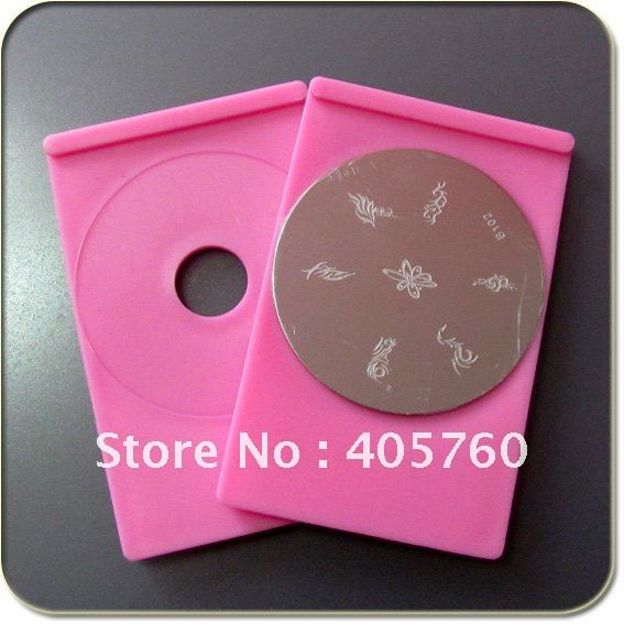 Nail Art Stamping Image Plate Holder Nail Stamp Plate Holder For Round Nail Stamping Plate Free Shipping Wholesale<br><br>Aliexpress