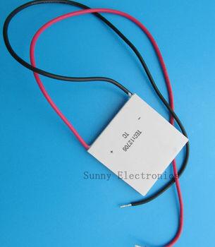 5pcs/lot X Free shipping 100% New TEC1 12706 12v 6A TEC Thermoelectric Cooler Peltier (TEC1-12706)