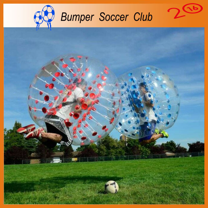 Free shipping ! Factory customize ! 1.5m Inflatable Bumper Ball Bubble Soccer Bubble Football For Adult(China (Mainland))