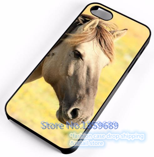 Horse Colt Mare Stud Farm fashion cover case for iphone 4 4s 5 5s 5c for 6 & 6 plus 6s & 6s plus *Y722M(China (Mainland))