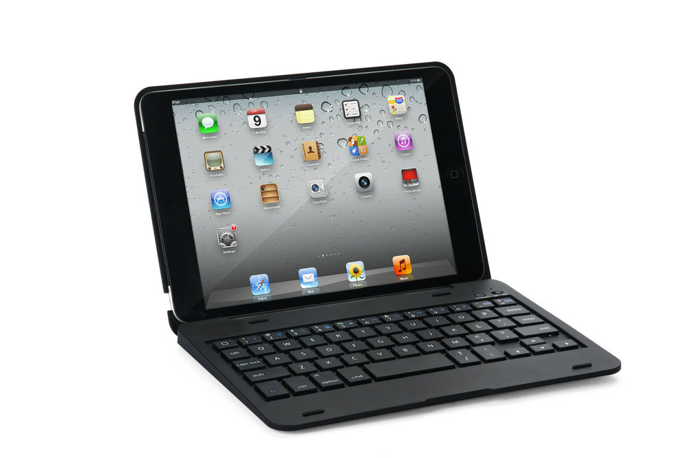 For Apple iPad Mini Colors Clam Shell Become Notebook Bluetooth Keyboard Case(China (Mainland))