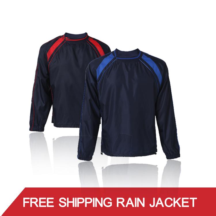 2015 New Soccer Jerseys Football Team Training Windbreak Breathable Warm Men Sportwear(China (Mainland))
