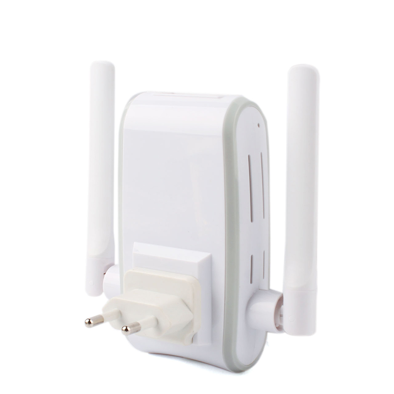 300M double antenna and Ethernet Repeater, wireless WIFI wireless router #78959(China (Mainland))