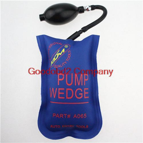 Professional Blue Diagnostic Tool KLOM PUMP WEDGE LOCKSMITH TOOLS Auto Air Wedge Lock Pick Open Car Door Lock Small Size(China (Mainland))