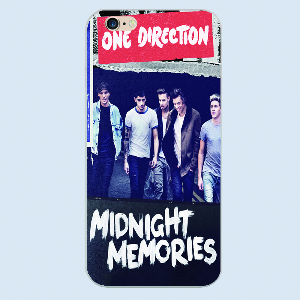 Classic band One Direction best song ever boyband star design cover case For Apple iphone 4 4s 5 5c 5s 6 6s plus(China (Mainland))