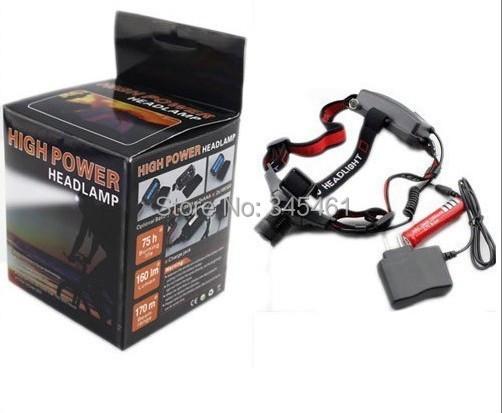 Здесь можно купить  5pcs/lot - Fashionable CREE Q5 LED Headlight hot sale headlight Led headlamp For Cycling/ Hunting with battery/ Charger  Свет и освещение