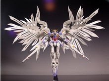 Free shipping 1:100 MG Gundam 20cm Wing Zero EW high fly up to 1:100 MG028 angel hair loss bracket + change parts