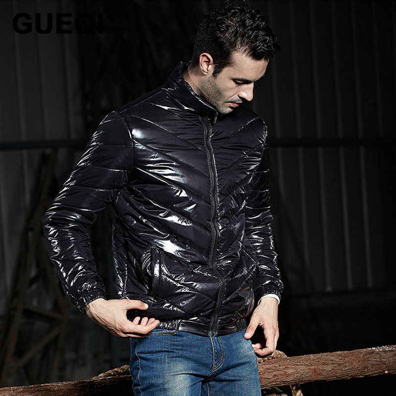 GUEQI Brand Fashion Winter Jacket Men 2015 New Arrival Men Coat Winter Warm Parka High Quality