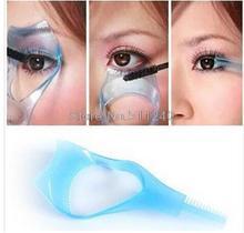 3 IN 1 Cosmetic Mascara Applicator Guide Eyelash Comb(China (Mainland))
