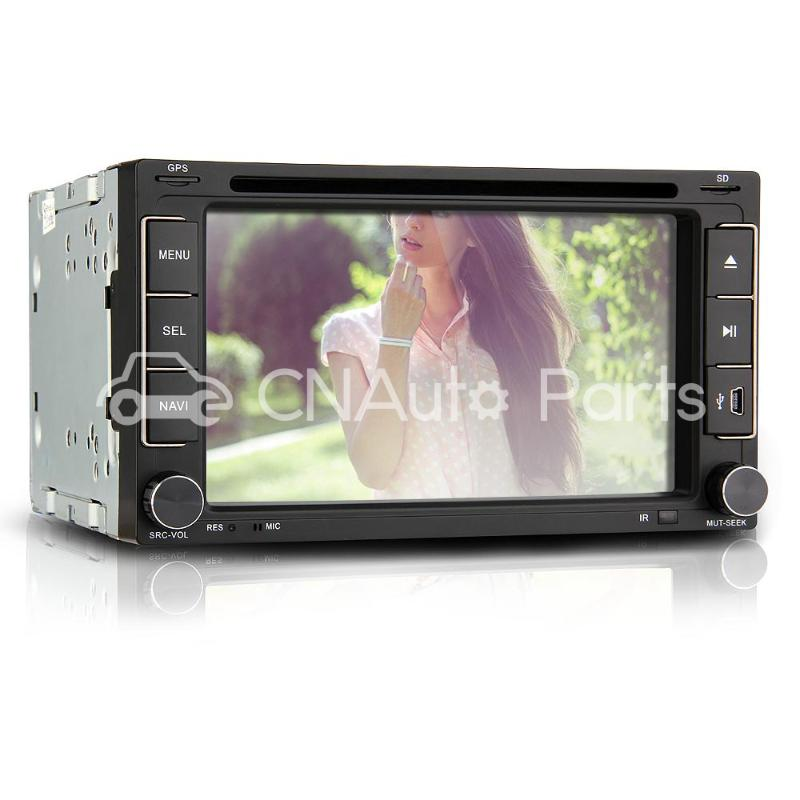 6 2 Car DVD Player Stereo In Dash 2 DIN GPS SD America Map for iPod