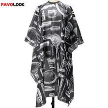 European American Fashion Black Professional Hot Salon Hairdressing Hairdresser Hair Cutting Gown Barber Cape Cloth Adult Kids(China (Mainland))
