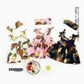 Kids Girls Summer Clothes Sets Tropical Fruit Printing Girls Boutique Outfits Sleeveless Dress Headband Toddler Girls
