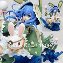 Free Shipping Anime Dating War Date A Live Yoshino PVC Action Figure Model Toy 21CM SGFG082