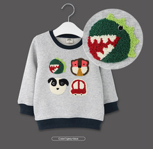 2016 Spring Boys Girls Sweatshirts for 2-6 Years Baby Children Clothes Cotton Casual Boys Girls Sweatshirts Hoodies Tops(China (Mainland))
