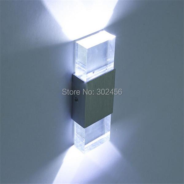 1 indoor wall lamp 2w warm white LED light AC85V-265v modern decro - led store
