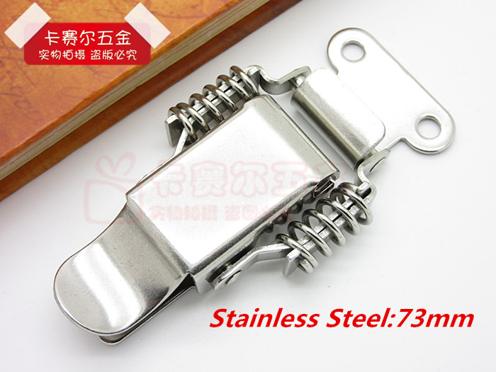 72mm Stainless Steel High Quality Chests Cases Boxes Suitcase Hardware Toggle Latch Catch Hasp Buckles 2pcs(China (Mainland))