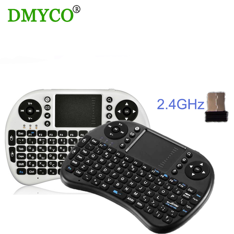 2.4G Wireless Mini I8 Wifi Keyboard Air mouse case Touchpad For Android TV PC TV BOX of M8 MX MK918(China (Mainland))