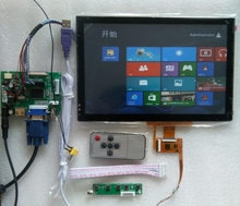 10.1 ips LCD with capacitive touch screen 10'finger touch for CarPc table PC 1280*800 USB WIN7 WIN8(China (Mainland))