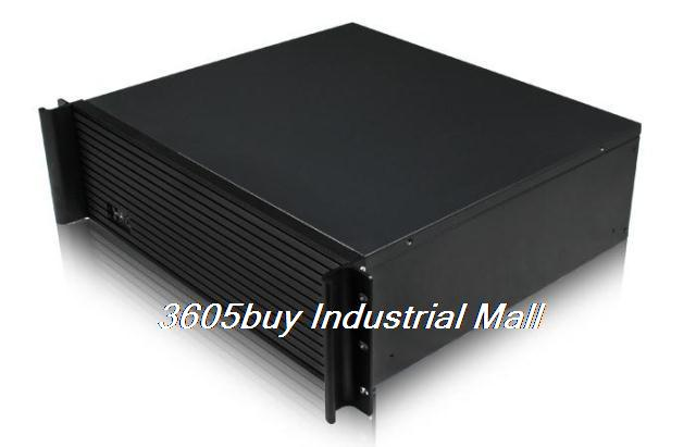Red 3u390l industrial computer case server computer case 390mm short computer case atx power supply(China (Mainland))