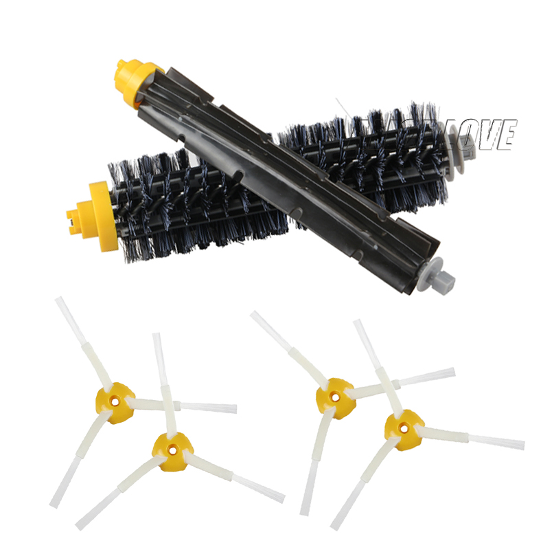 1 Bristle brush +1 Flexible Beater Brush +4 Side Brush for iRobot Roomba 600 700 Series Vacuum Cleaning Robots 760 770 780 790<br><br>Aliexpress