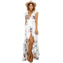 Buy Summer Dress Women 2017 Boho Plus Size Tunic Bandage Maxi Beach Dresses Summer Sundress Robe Femme Vestido De Festa C62 for $10.91 in AliExpress store
