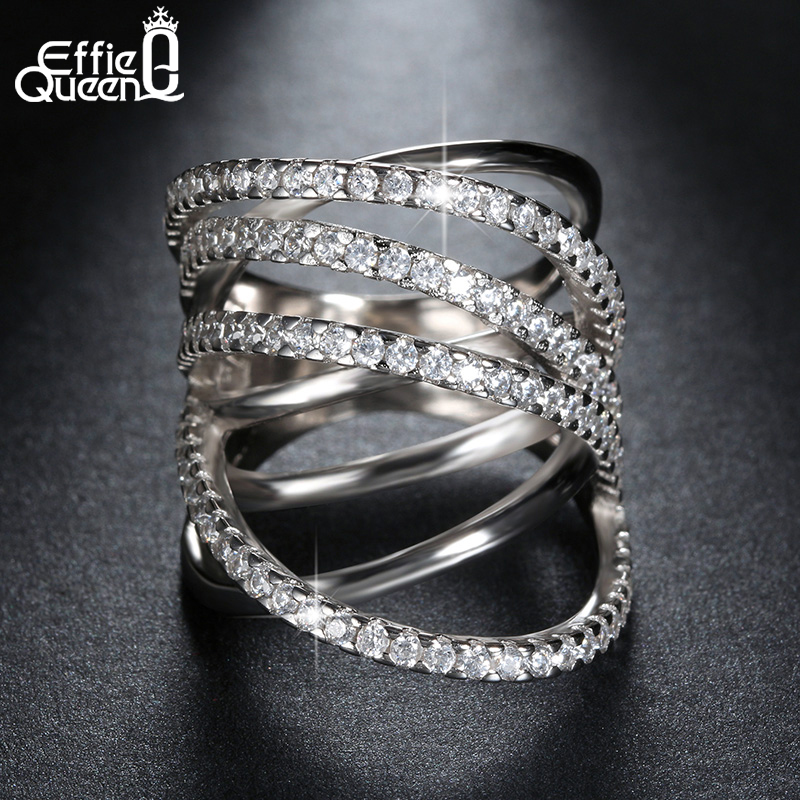 Fashion Jewelry Platinum Plated CZ Bowknot Vintage Ring Women Ring for Wedding DAR035(China (Mainland))