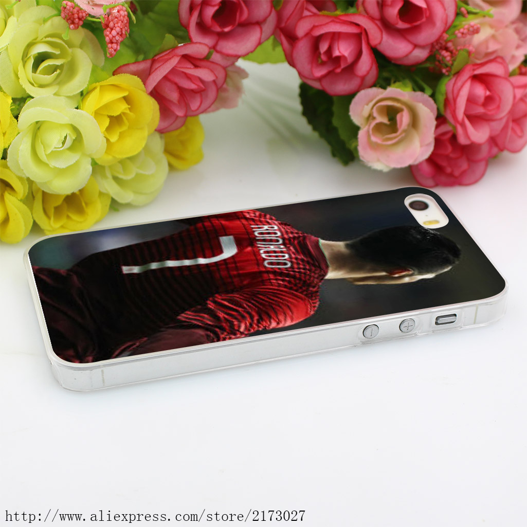 971Y Furiousgfx Cristiano Ronaldo Hard Case Transparent Cover for iPhone 4 4s 5 5s 5c SE 6 6s 7 & Plus