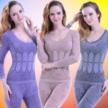 Autumn Winter Modal women underwear seamless beauty care thin thermal intimates body shaping women's long johns TS-021(China (Mainland))