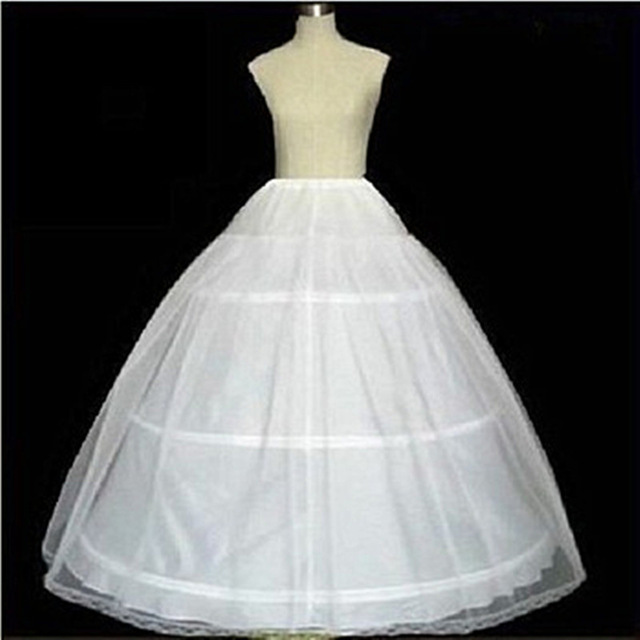 2015 Newcheap Hoop 3 Layers Petticoats For Wedding Dresses