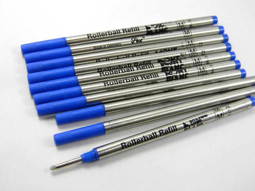 Чернила для ручек M 10 rollerball pen refill rollerball pen black ink refill 0 5 tip m