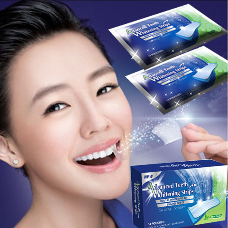 14packs-box-Teeth-Whitening-Strips-Oral-