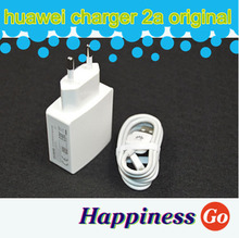 Original 5V 2A  Travel Charger Adapter EU Plug + USB cable For Huawei Ascend P6 P7 Honor 3C 3X 6 Plus Mate 7
