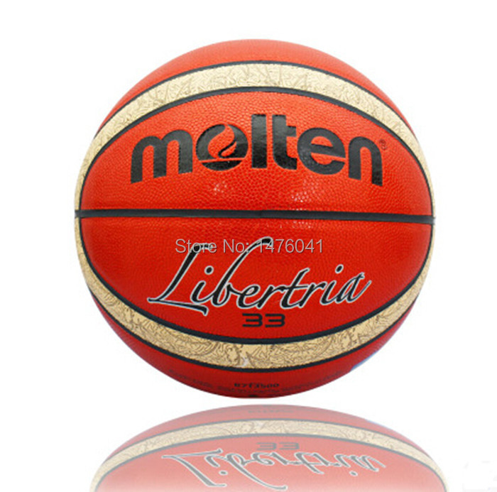 100% NEW Real Molten B7T3500 Basketball Ball PU Leather Official Size 7 Standard Basketball Suitable for Outdoor and Indoor(China (Mainland))