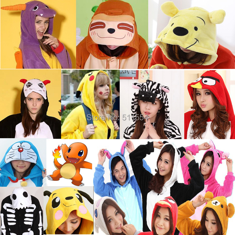 Free Shipping Top Seller  Wholesale One Piece Winter Coral Fleece Cosplay Anime Costume Pajamas Kawaii Baby Clothes Foot Pyjamas(China (Mainland))
