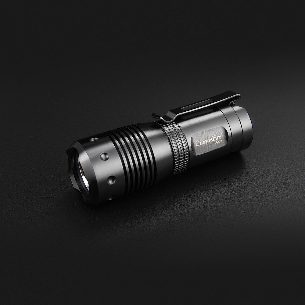 Super MINI Flashlights UF-K21 Cree U2 Handheld Pressing Torches with Coated Glass Lens (1*16340/1*CR123A) pocket flashlight(China (Mainland))