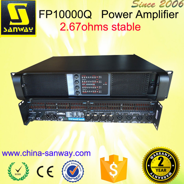 4 Channel Class TD Pro Sanway Audio Pa Power Amplifiers
