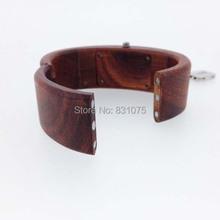 Ren Sandal wood and Green Sandal Wood Ladies Girls Wood Bracelet Watch