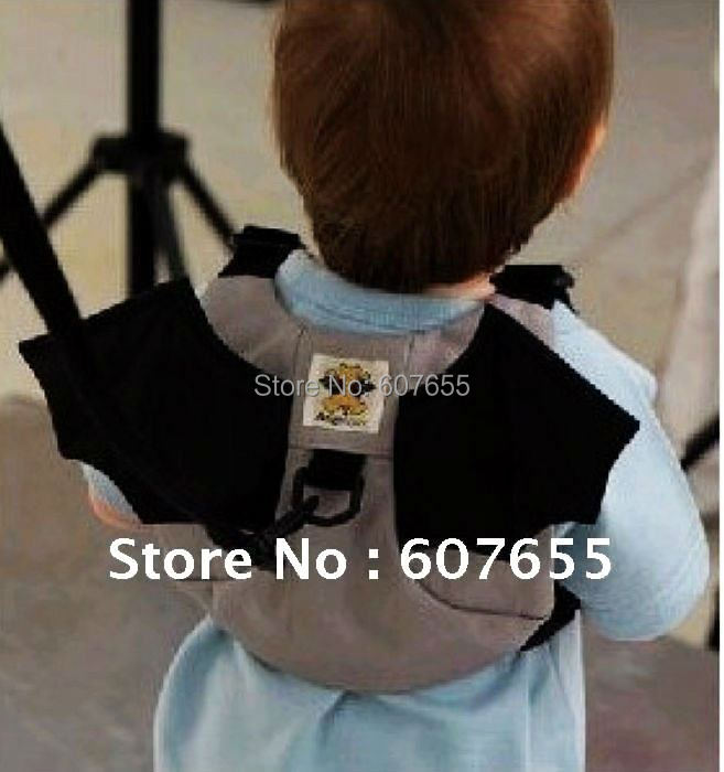 Hot sale!Free shipping!bat baby safety harness,Kid keeper,school bag,prevent baby lost(China (Mainland))